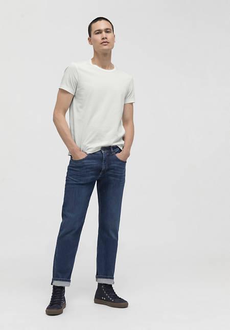 Shirt aus reiner Bio-Pima-Baumwolle
