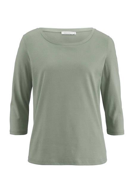 Shirt aus reiner pflanzengefärbter Bio-Baumwolle