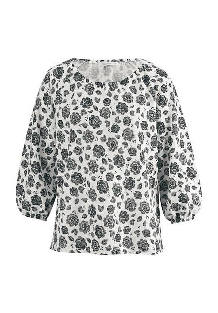 Shirt blouse made from pure organic hemp