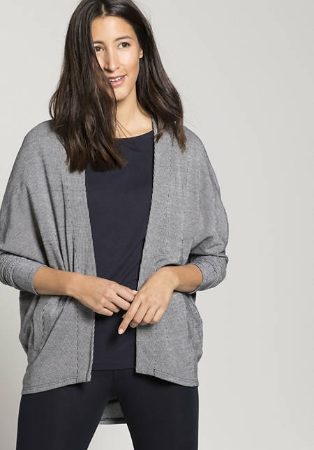 Shirt jacket made from pure organic cotton