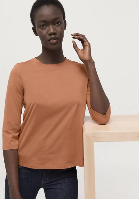 Shirt made from pure Pima organic cotton