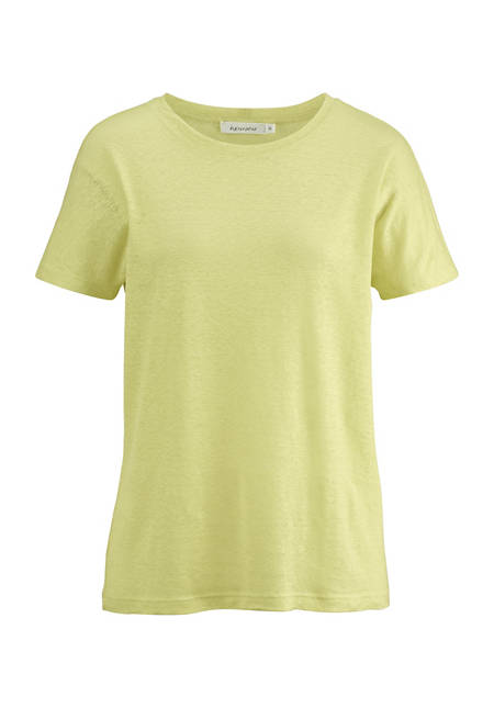 Shirt made from pure organic hemp