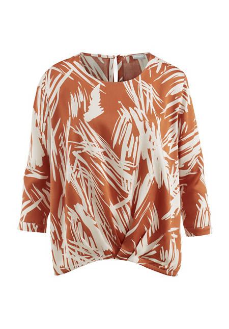 Shirtbluse aus reinem Modal