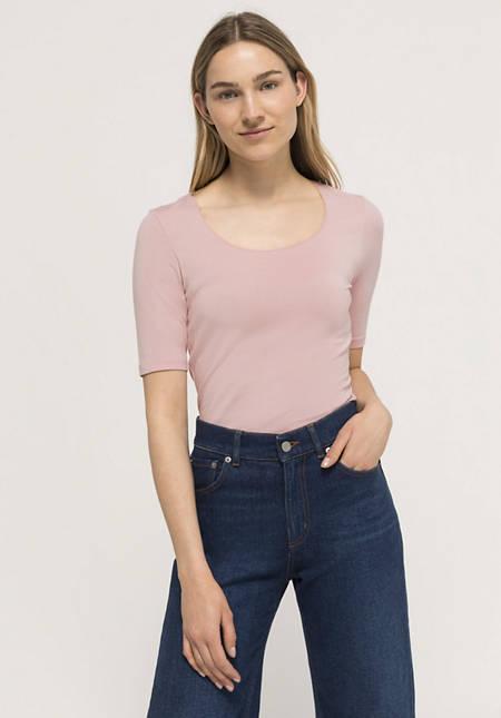Short-sleeved shirt made of TENCEL ™ modal