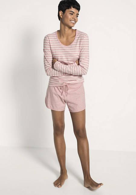 Shorts aus reiner Bio-Baumwolle