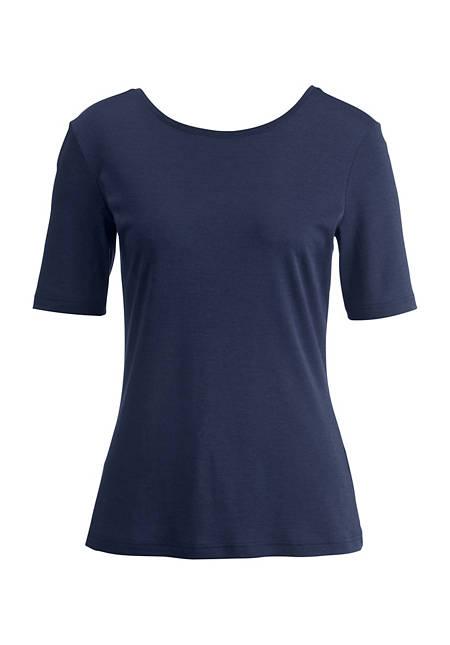 Silk shirt with cotton