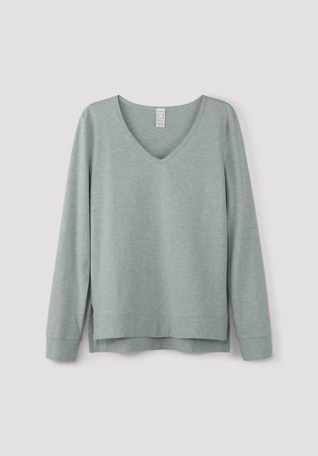 Sleep shirt made of pure organic cotton
