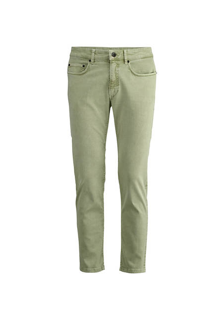 Slim fit jeans made from mineral-dyed organic denim