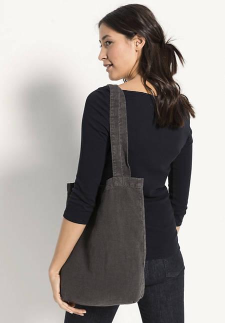 Small shopper made from Hessen linen