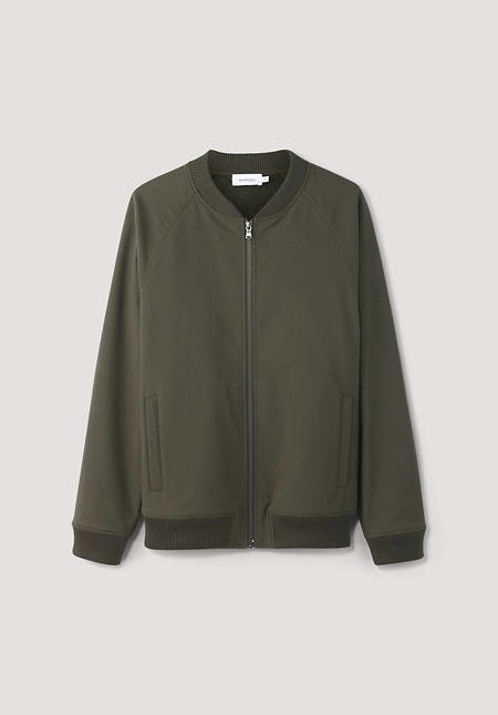 Softshell blouson made from pure organic cotton