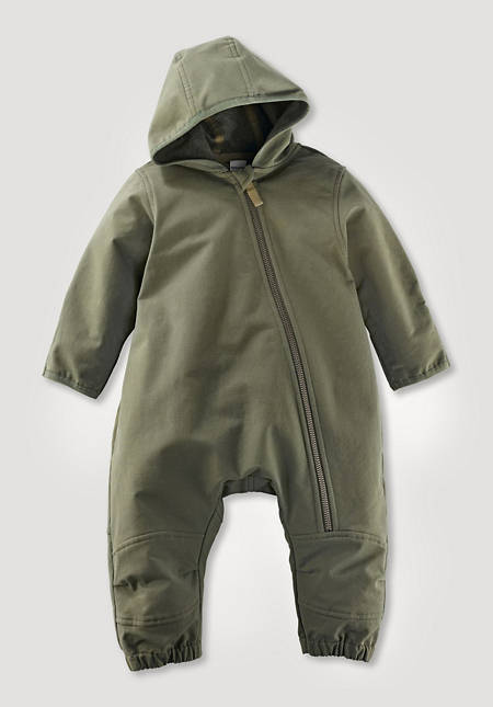 Softshell overall with ecological impregnation