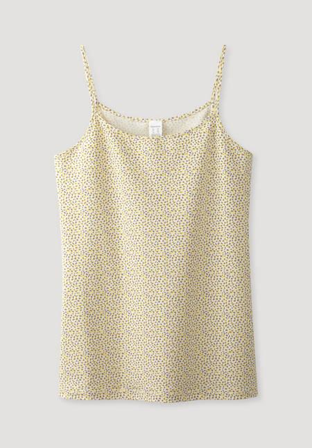 Spaghetti-Shirt PureLUX aus Bio-Baumwolle