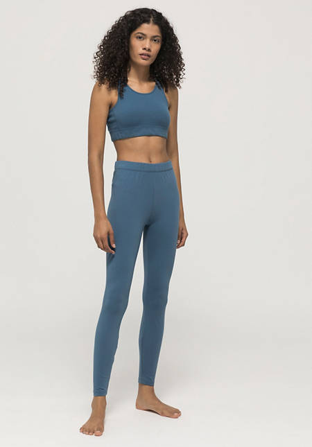 Sports leggings made of organic cotton