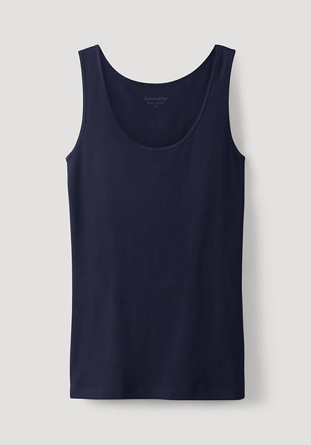 Strappy top made of pure organic cotton