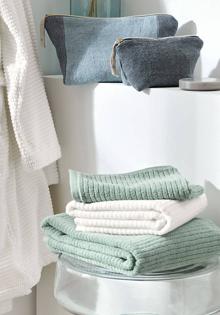 Supersoft terry towel made of pure organic cotton