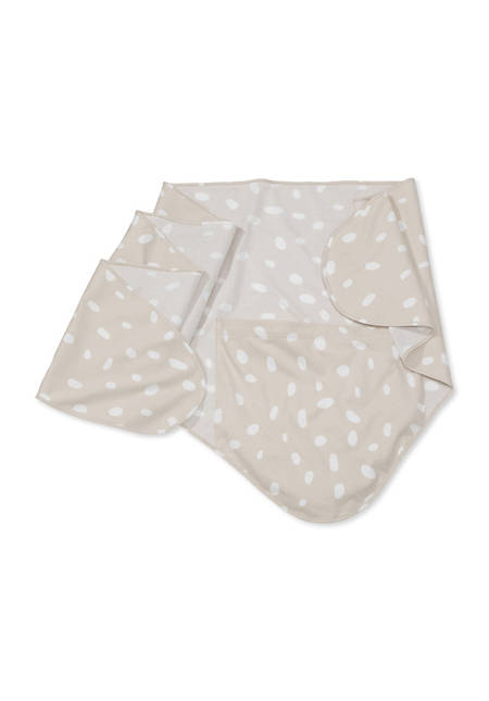 Swaddle made of pure organic cotton