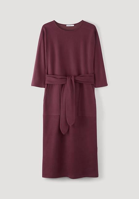 Sweat dress made from pure organic cotton
