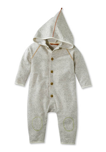 Sweat overall made of organic cotton with hemp and new wool