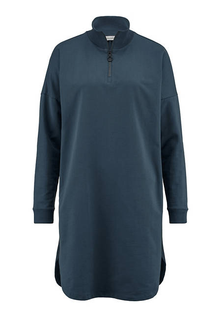 Sweatkleid aus Bio-Baumwolle mit Kapok