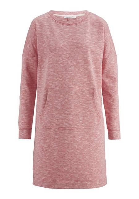 Sweatkleid aus reiner Baumwolle