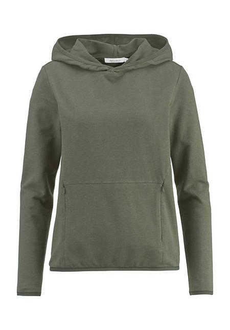 Sweatshirt aus Bio-Baumwolle mit Hanf und Merinowolle