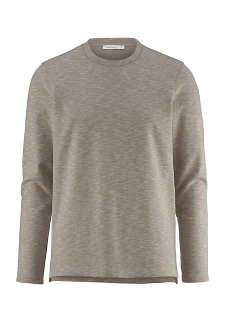 Sweatshirt aus Bio-Baumwolle mit Yak