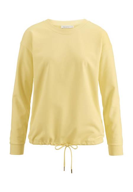 Sweatshirt aus Bio-Baumwolle und Kapok