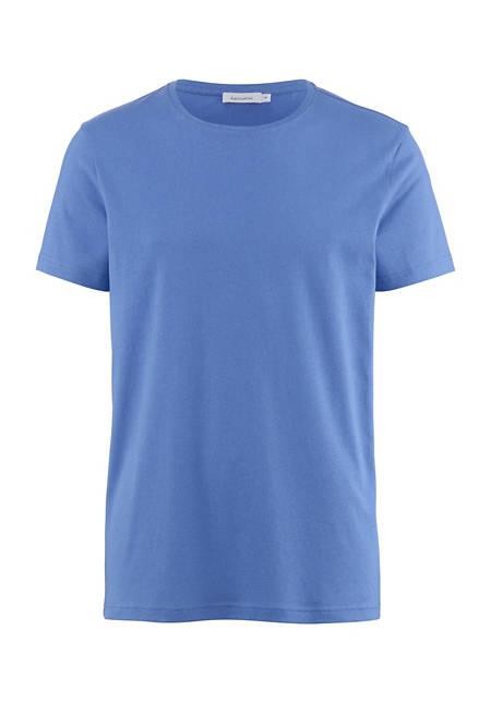 T-Shirt aus Bio-Baumwolle mit Seide