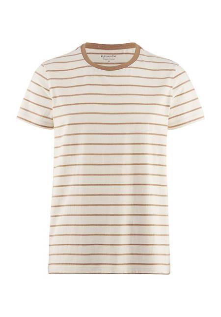 T-Shirt aus farbig gewachsener Bio-Baumwolle