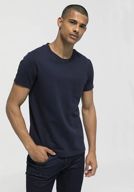 T-Shirt mit Bio-Baumwolle mit Kapok