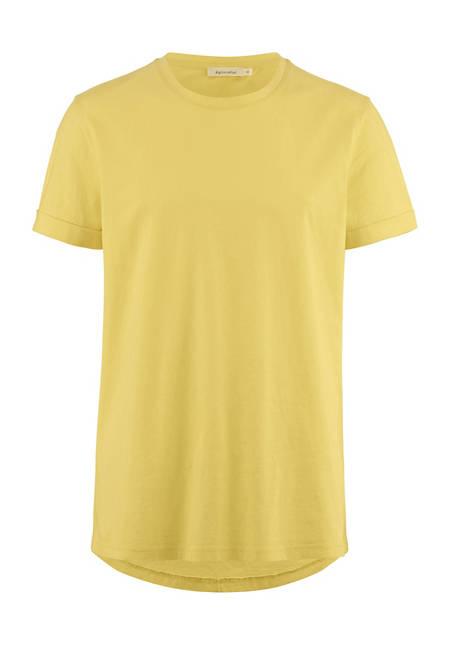 T-Shirt pflanzengefärbt aus reiner Bio-Baumwolle