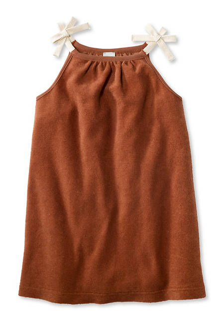 Terrycloth dress made of pure organic cotton