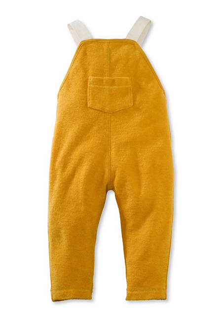 Terrycloth dungarees made of pure organic cotton