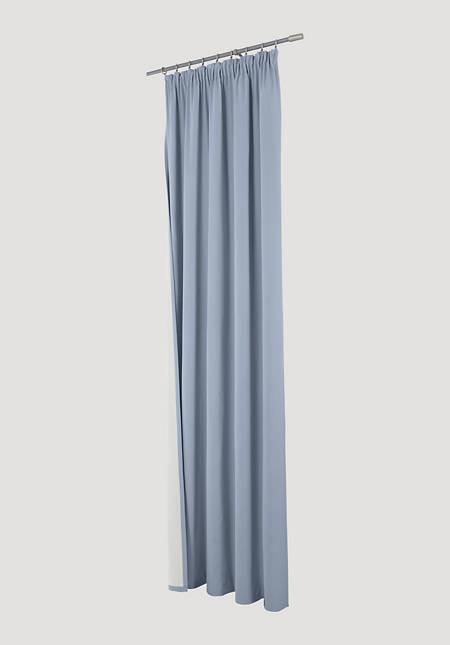 """Thermo-Vorhang """"Neveres"""" mit Faltenband aus reiner Bio-Baumwolle"""