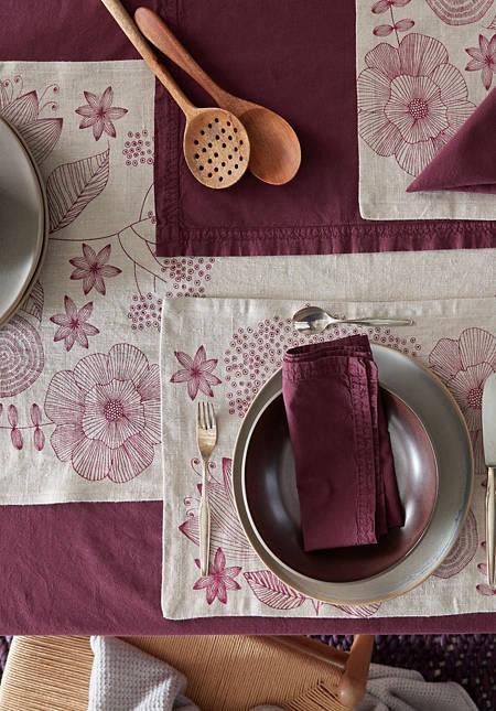 Tischset Akina aus reinem Leinen
