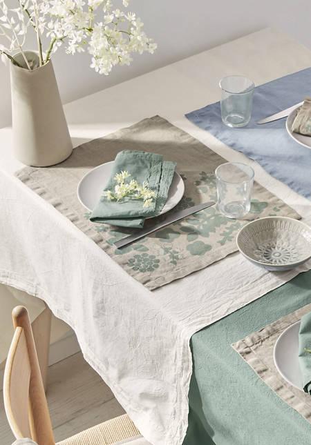 Tischset Leila aus reinem Leinen