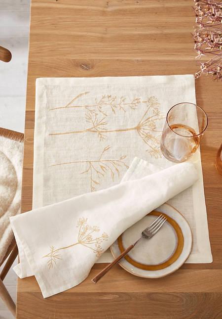 Tischset Pernille aus reinem Leinen