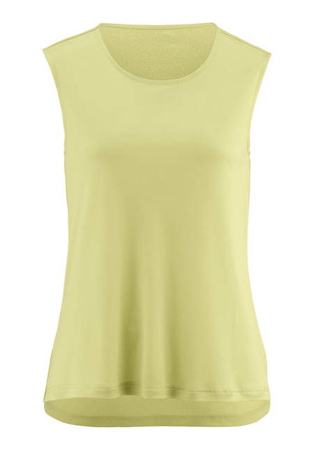 Top made from pure organic silk