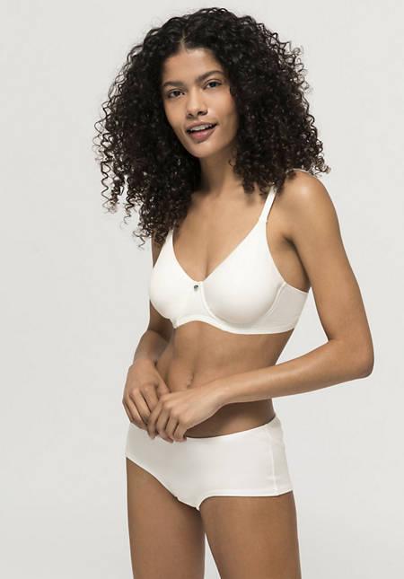 Underwired bra made of organic cotton