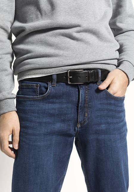 Unisex Gürtel aus Leder