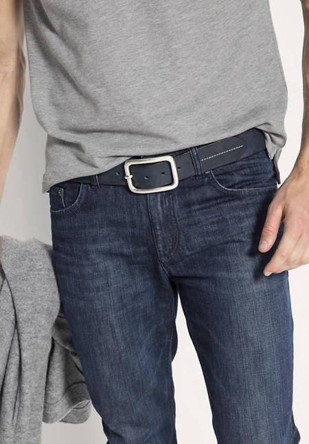 Unisex Leder-Gürtel