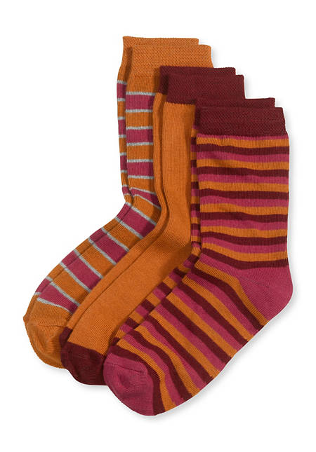 Unisex Socke im 3er-Set aus Bio-Baumwolle