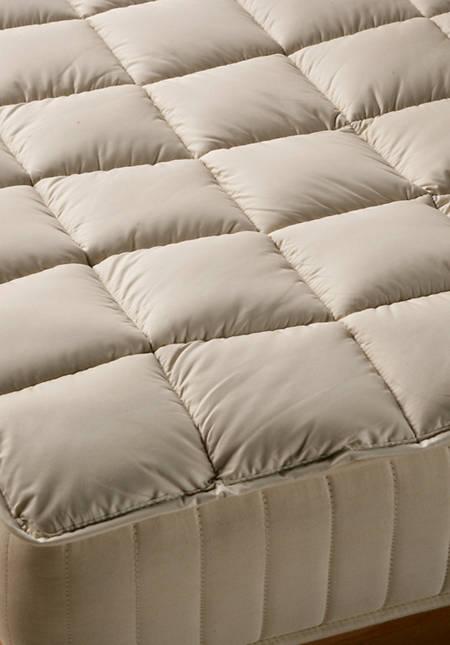 Unterbett Kapok mit Bio-Baumwolle