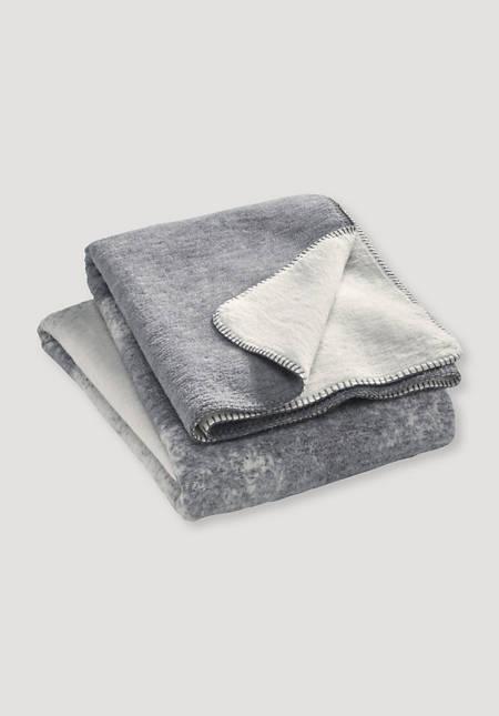 Velour-Decke Kiri aus reiner Bio-Baumwolle
