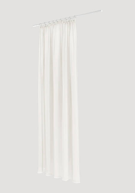 """Vorhang """"Marc"""" mit Gardinenband aus reiner Bio-Baumwolle"""