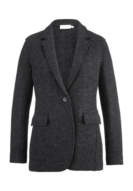 Walk blazer made of pure organic new wool
