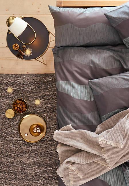 Webteppich Rhönschaf aus reiner Schurwolle