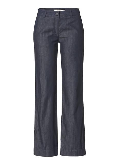 Weite Jeans aus reinem Bio-Denim