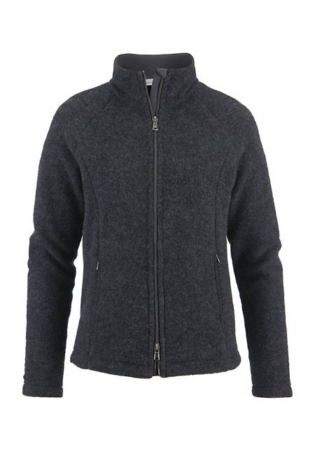 Wollfleece-Jacke aus reiner Bio-Merinowolle