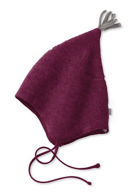 Wollfleece Mütze aus reiner Bio-Schurwolle